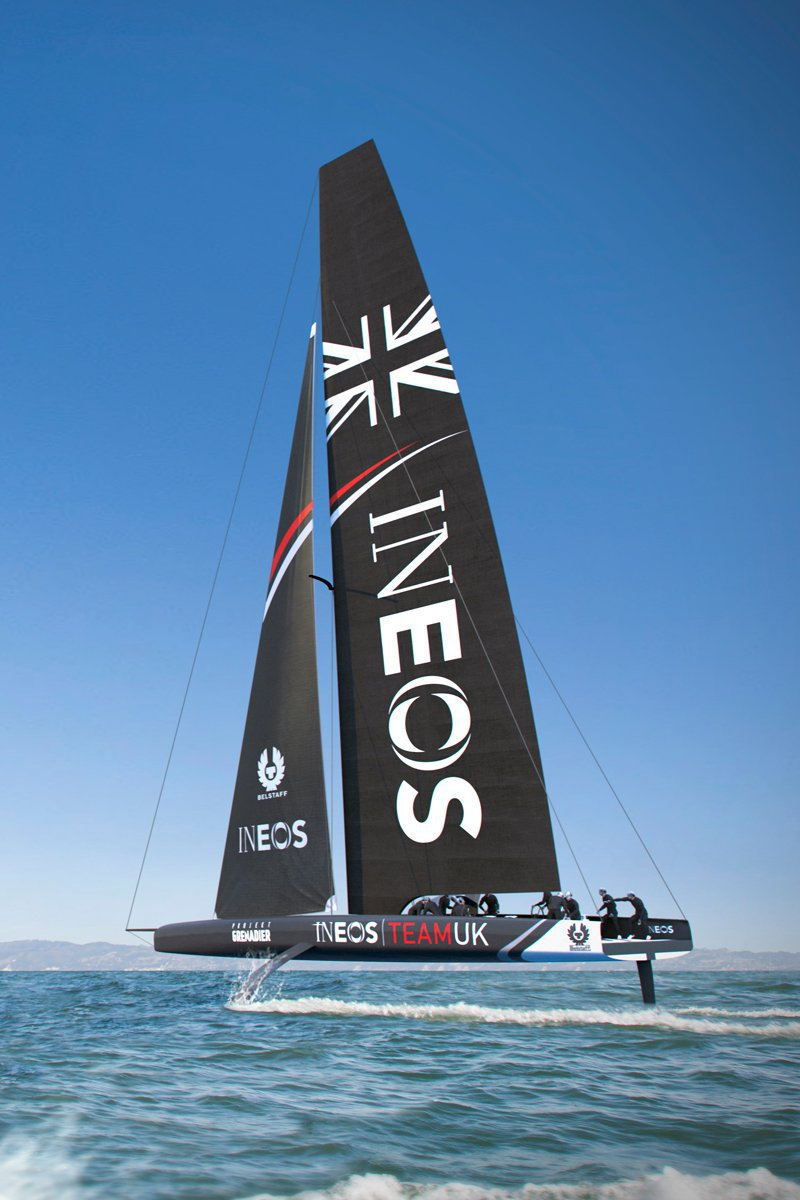 Partners with Haas for the America's Cup