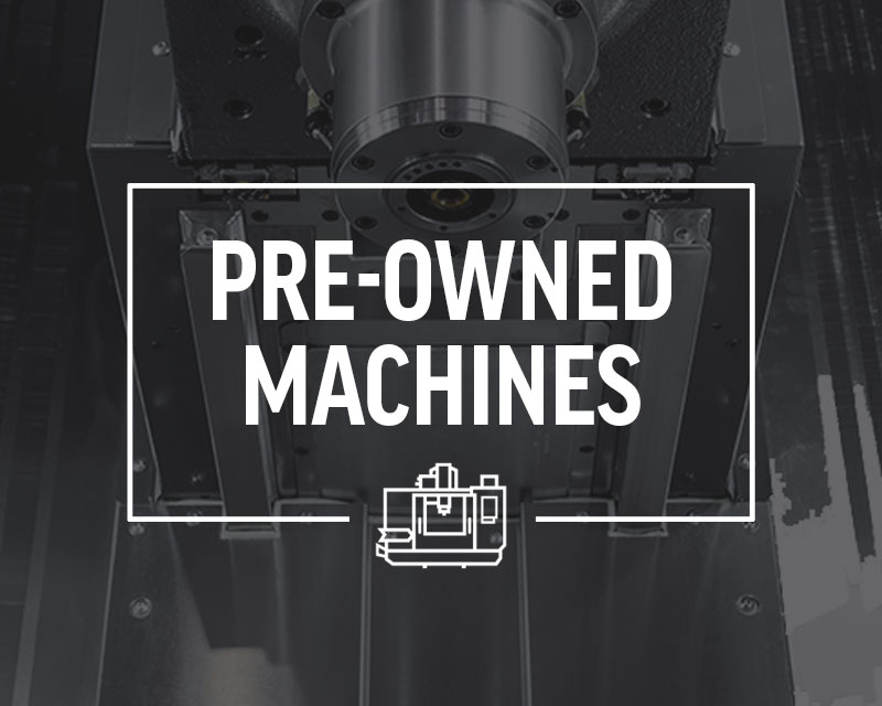 Pre-owned Haas CNC Machines